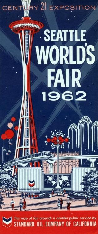 Space Needle, Seattle World's Fair,1962