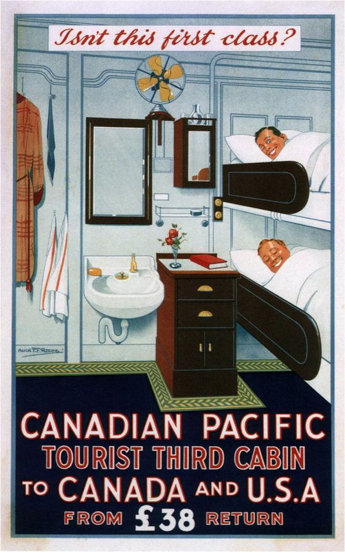Canadian-Pacific: Isn't this first class?
