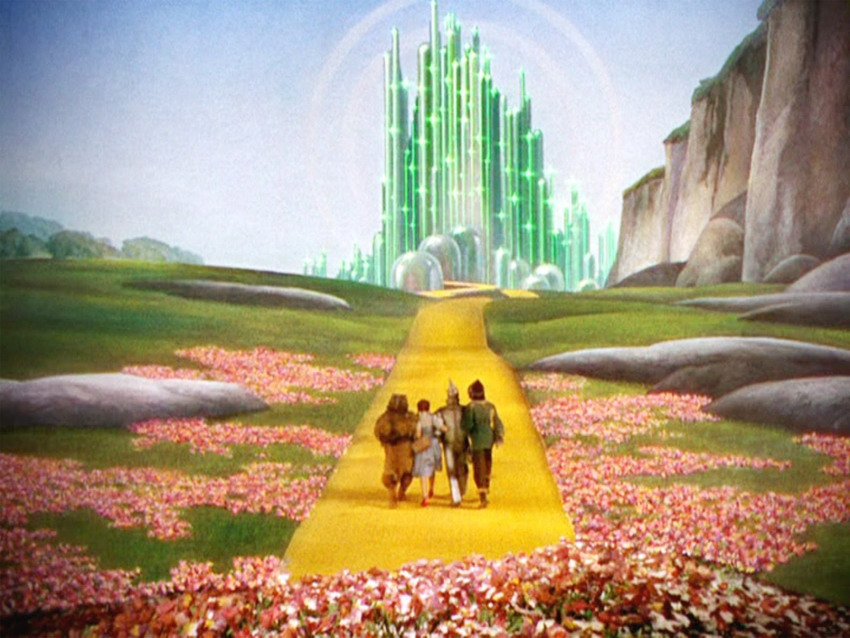 "Emerald City, ""Wizard of Oz"""
