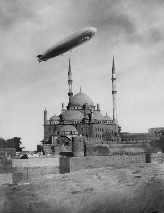 Zeppelin over Istanbul,1930