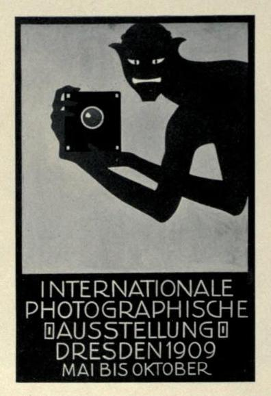 Internationale Photographische Austellung, Dresden, 1909