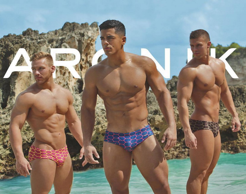 Trio of Aronik Swimwear Models