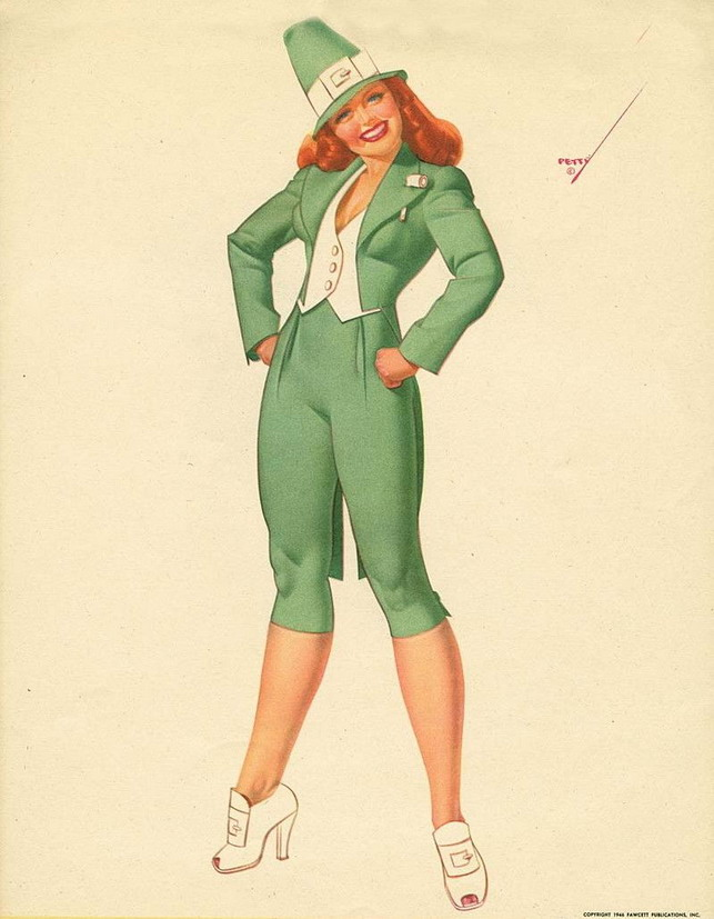 Petty pin up for St. Patrick'sDay