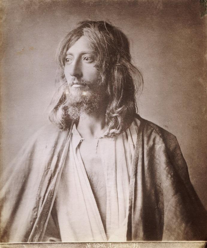 """""""A Persian Dervish Mystic"""", photo by Dmitri Yermakov,1875"""