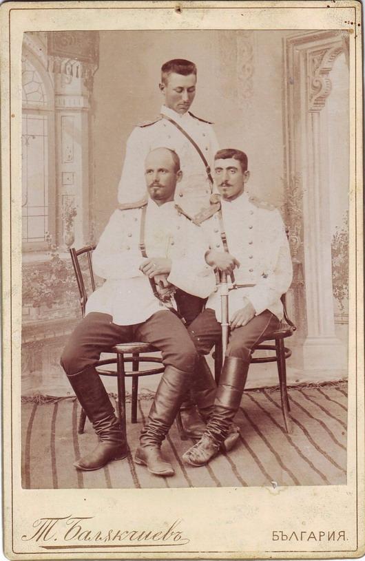 Three officers