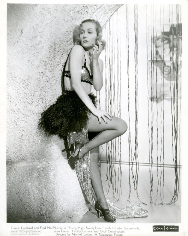"Carole Lombard in ""Swing High, Swing Low"""