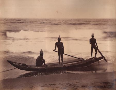Along the coast of Sri Lanka (Ceylon),1800s