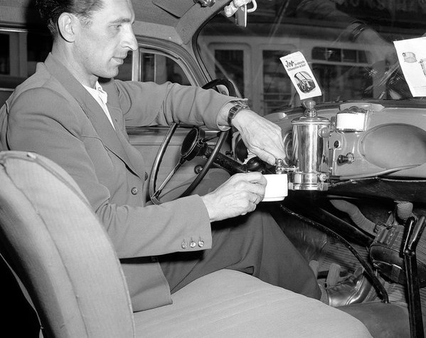Coffee dispenser in yourcar