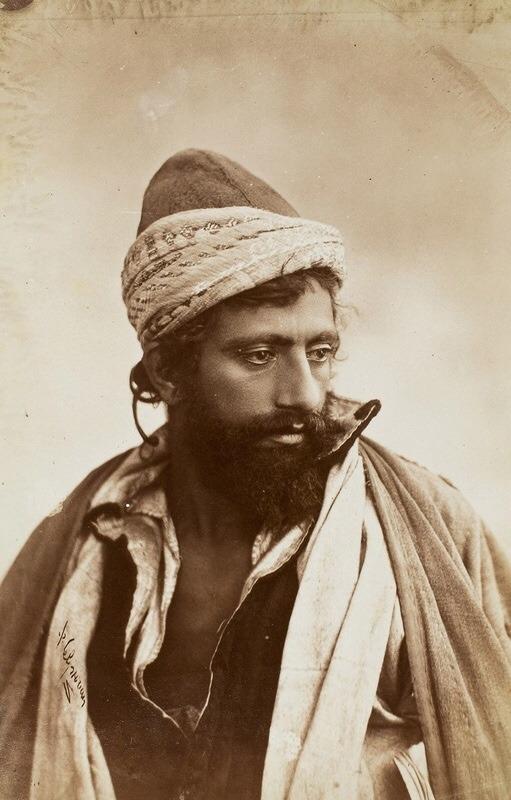 Iranian Dervish, Qajarperiod