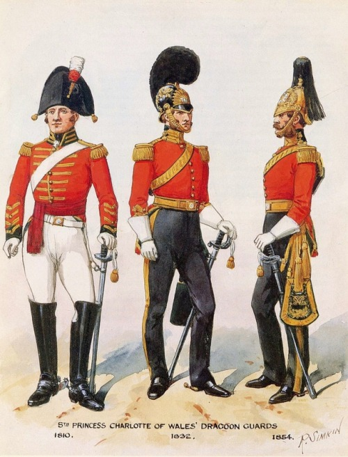 Dragoon Guards, UK, 1800s