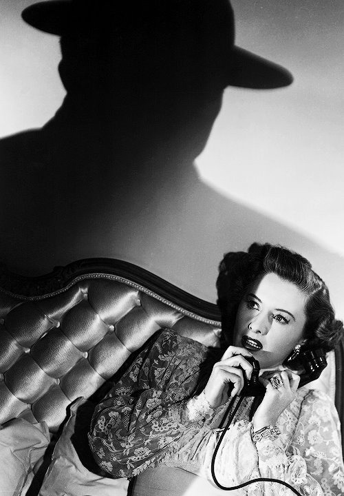 "Barbara Stanwyck in ""Sorry, Wrong Number"" (1948)"