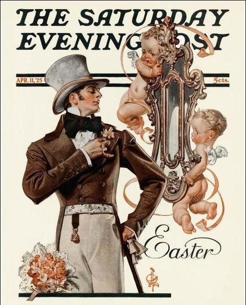 Easter by Leyendecker,1925