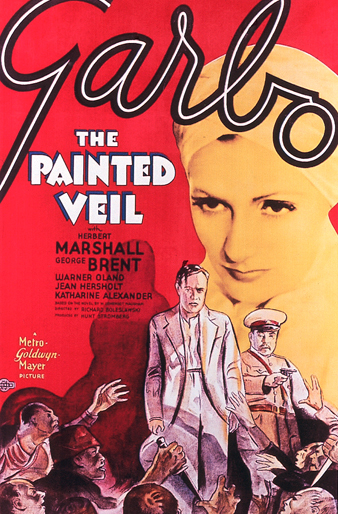 "Poster for ""The Painted Veil"", starring Greta Garbo"