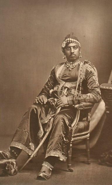 Maharana Sajjan Singh of Udaipur, India,1877