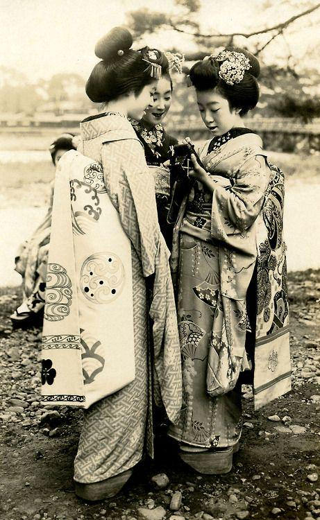Vintage Geisha, Japan