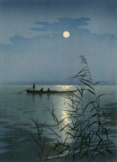 "Koho Shoda , ""Moonlit Sea:"