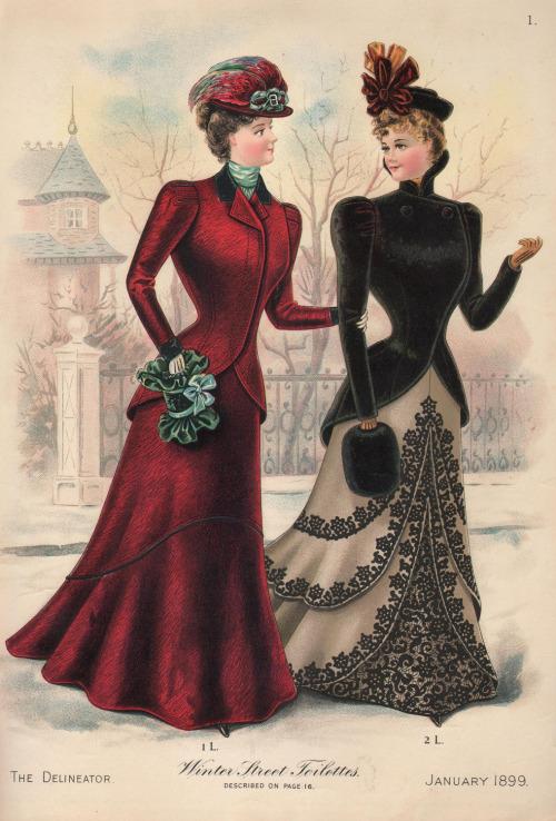 Modes de 1899