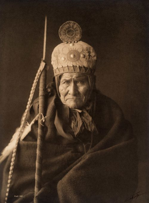 Geronimo, Apache, US Southwest, 1905