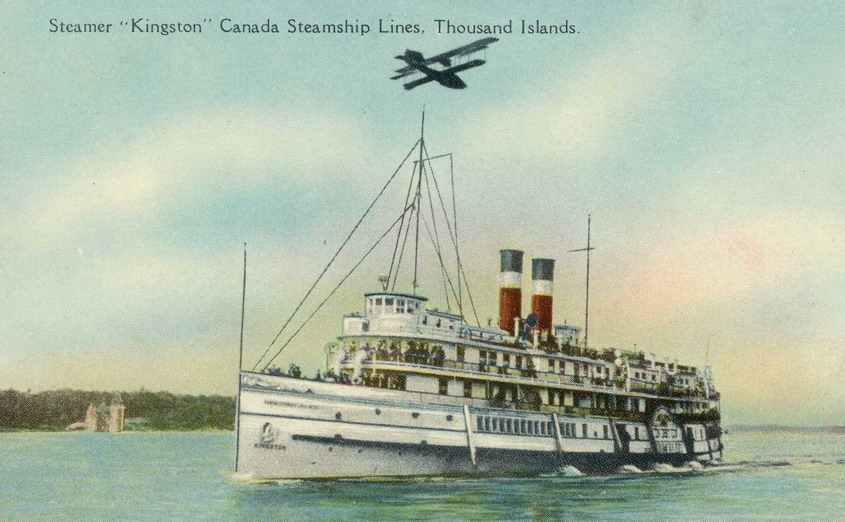 "Steamer ""Kingston"", Canada Steamship Lines, Thousands Islands/Lake Ontario"