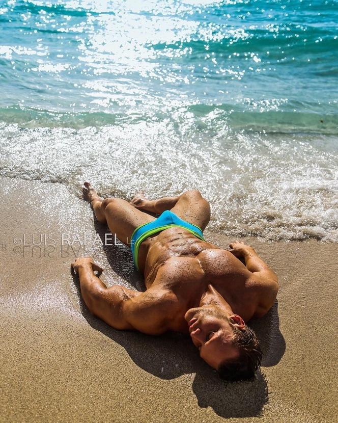 Luis Rafael swimwear model by the sparklingsea
