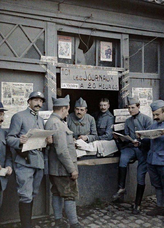 Journaux, Premiere Guerre Mondiale,France