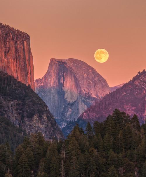 Yosemite, California, photo by JeffSullivan