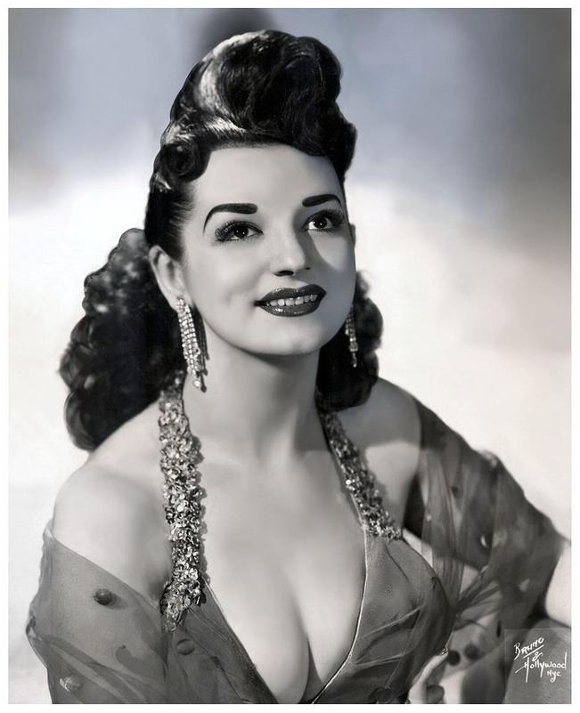 Burlesque performer, circa1950