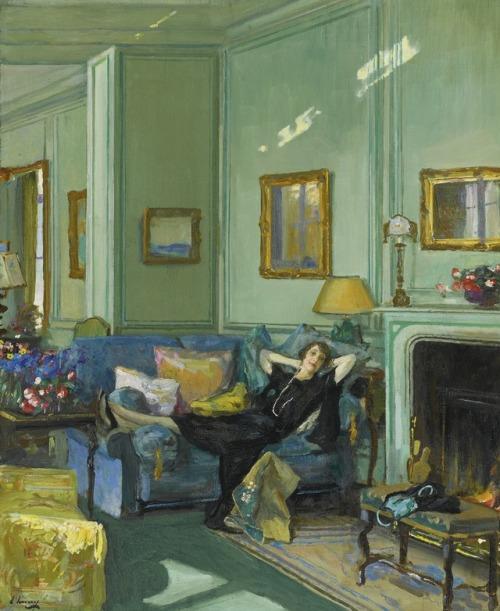 John Lavery 'Mrs. Osler',1929