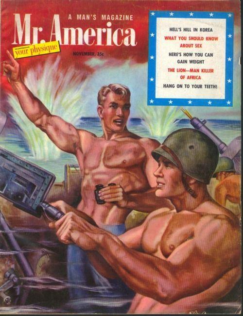 Mister America, A Man'sMagazine