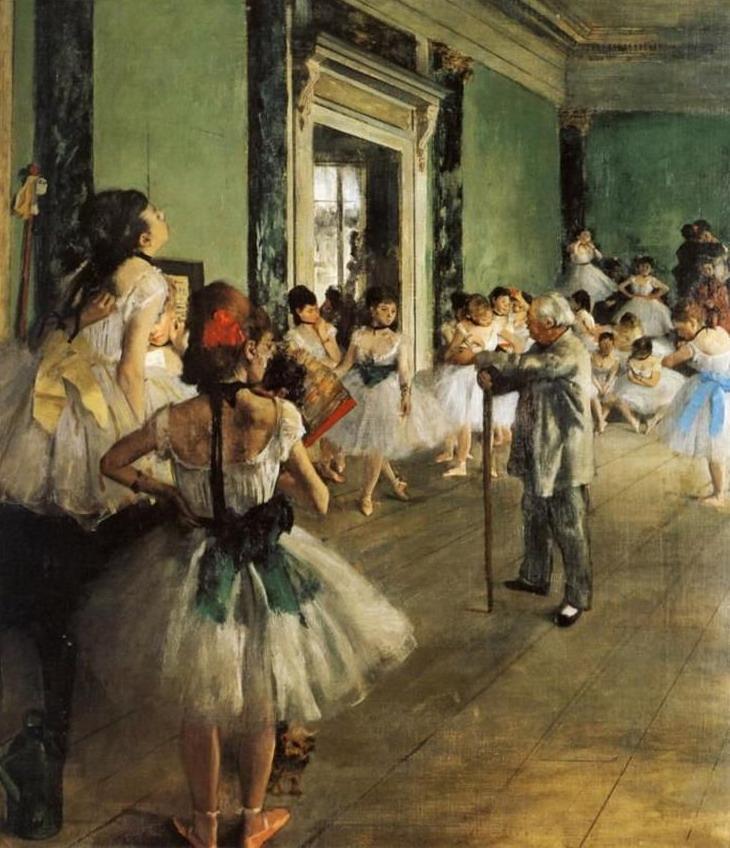 Ballet dancers by EdgarDegas
