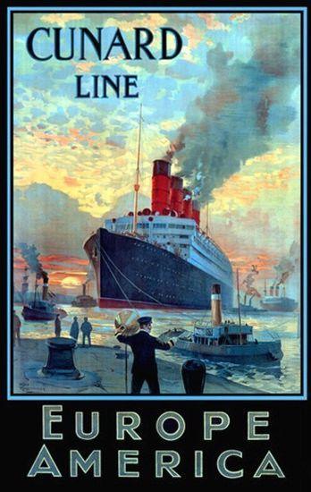 Trans-Atlantic Service, CunardLines