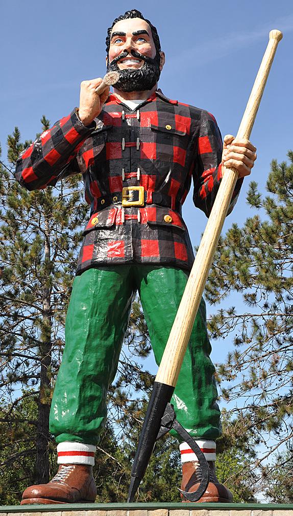 Paul Bunyan statue, Bangor,Maine