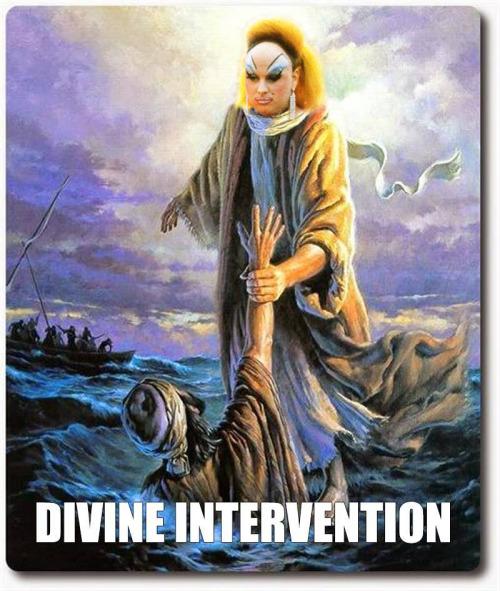 I think we need a Divineintervention