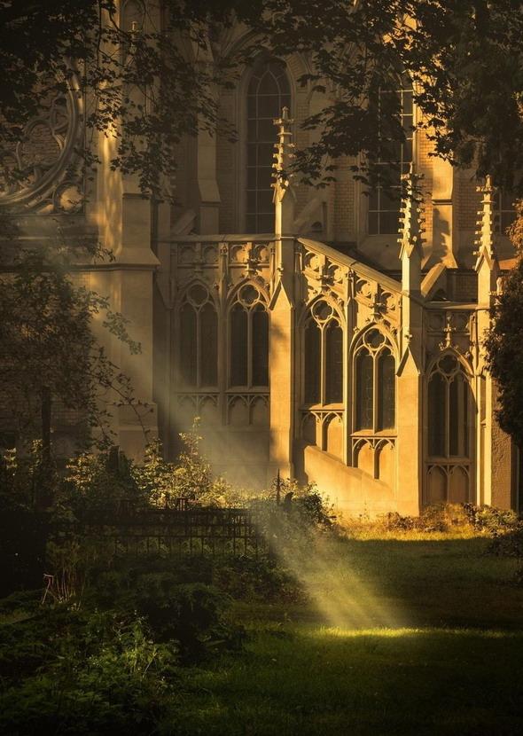 Divine spotlight