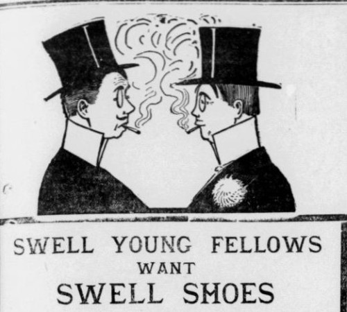 Top hats and shoes