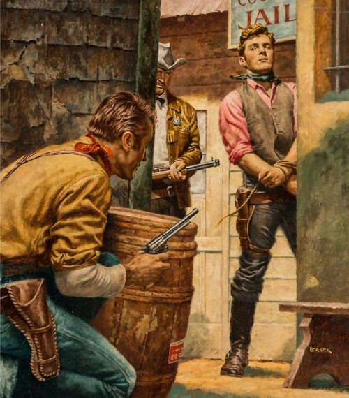 Cowboy bondage
