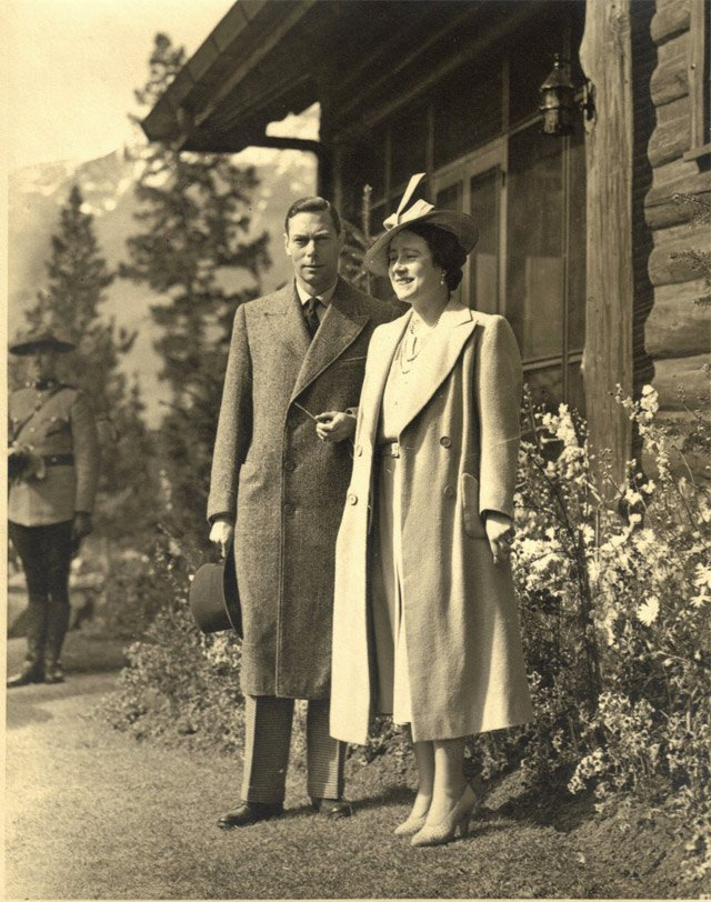 King George VI and Queen-Consort Elizabeth on a royal visit to Canada,1939