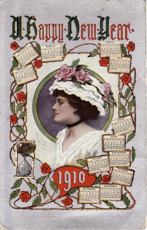 Happy New Year, 1910