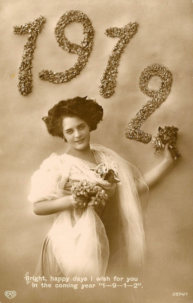 Happy New Year, 1912