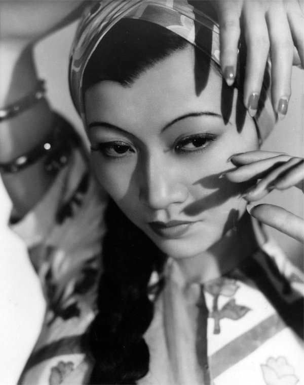 Chinese-American film actress Anna May Wong, 1930s