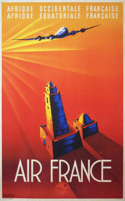 Air France – Afrique Occidentale/Equatoriale, 1950s