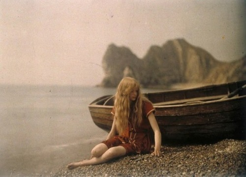 Autochrome – very early colour photography (1910s?)