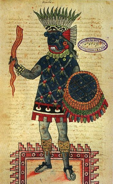 Aztec god of thunder