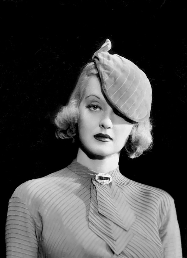 Bette Davis by Elmer Fryer, 1934