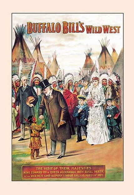 Buffalo Bill's Wild West Show,1800s