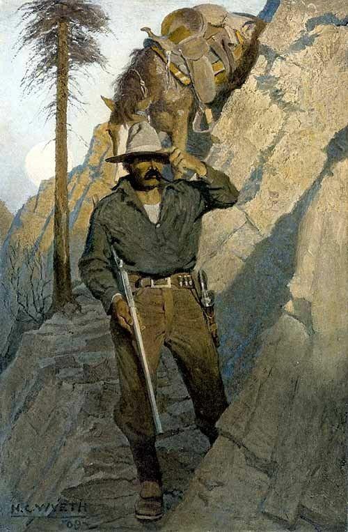 Cowboy by N.C.Wyeth