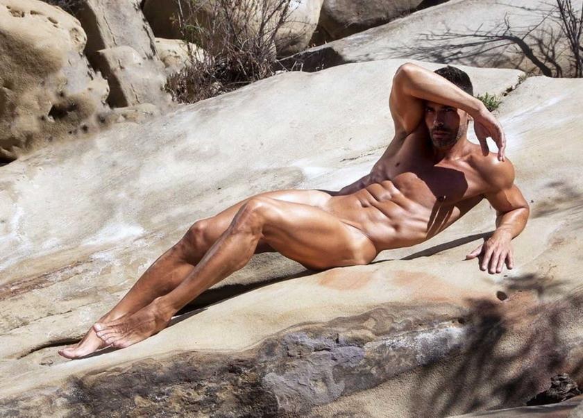 Argentinian model DionisioHeiderscheid
