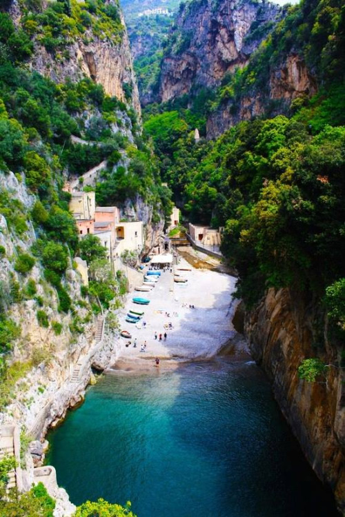 Fishing village, Italy