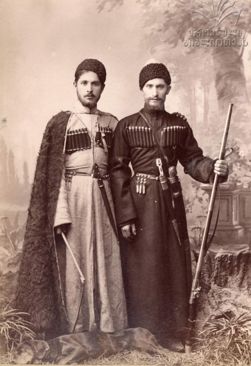 Two men from Central Asia,1800s