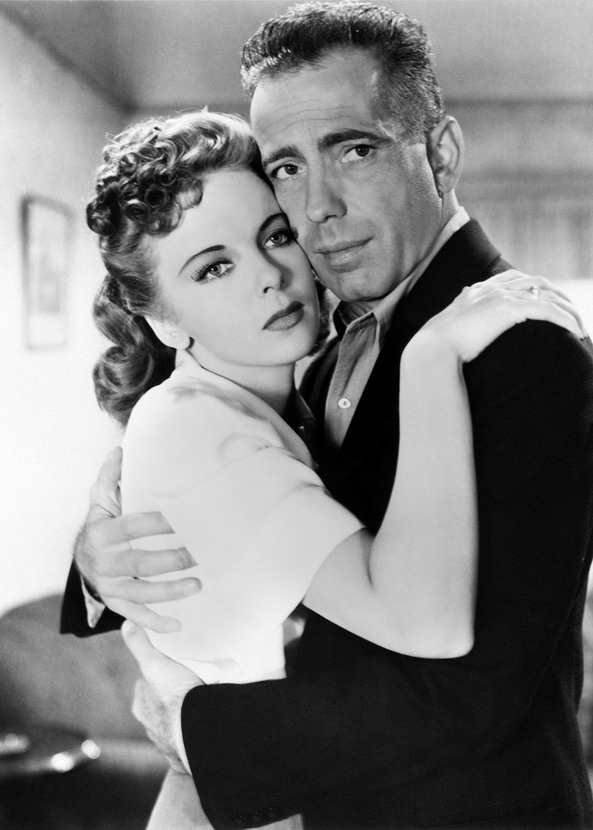 "Ida Lupino and Humphrey Bogart in ""High Sierra"", 1941"
